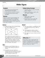 Geometry Leveled Problems: Hidden Figures in a Shape