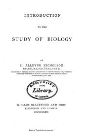 Introduction to the Study of Biology