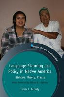 Language Planning and Policy in Native America PDF