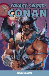 Savage Sword of Conan Volume 9: Volume 9