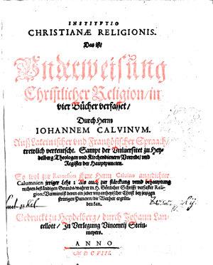 Institutio christianae Religionis PDF