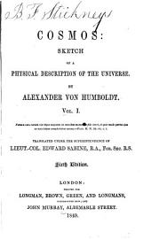 Cosmos: Sketch of a Physical Description of the Universe, Volume 1