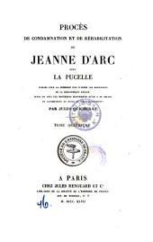Proces De Condamnation Et De Rehabilitation De Jeanne D'Arc