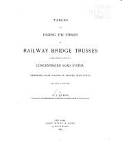 Tables for Finding the Strains in Railway Bridge Trusses Under the Action of a Concentrated Load System PDF