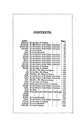 The Letters of Junius PDF