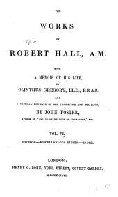 Sermons, miscellaneous pieces, index