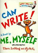 I Can Write  Book PDF