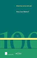 Does Law Matter  PDF