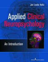Applied Clinical Neuropsychology PDF