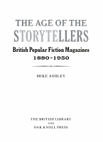 The Age of the Storytellers PDF