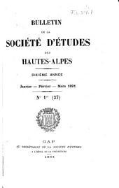 Bulletin de la Société d'études des Hautes-Alpes