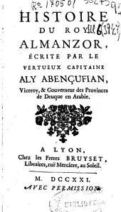 Histoire du roy Almanzor