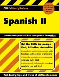 CliffsStudySolver  Spanish II PDF