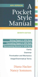 A Pocket Style Manual  APA Version 7e   Launchpad Solo for a Pocket Style Manual 7e  Six Month Access