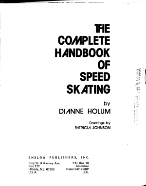 The Complete Handbook of Speed Skating