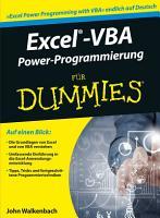 Excel VBA Alles in einem Band f  r Dummies PDF