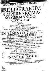 Discursus academicus de iure liberarum in Imperio Romano-Germanico civitatum