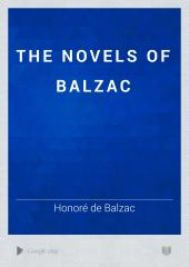The Novels of Balzac: Volume 21