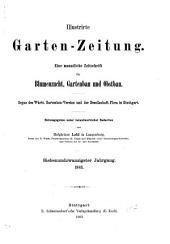 Illustrirte Garten-Zeitung: Band 27