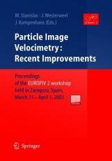 Particle Image Velocimetry  Recent Improvements PDF