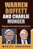 Warren Buffett and Charlie Munger PDF