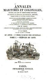 Annales maritimes et coloniales: Volume21;Volume29
