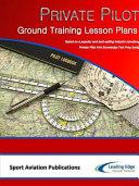 Private Pilot Ground Training Lesson Plans