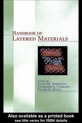 Handbook Of Layered Materials Book PDF