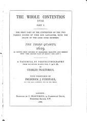 Shakspere Quarto Facsimiles: With Introductions, Line-numbers, &c., by Shakspere Scholars, Volume 23