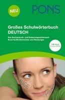Gro  es Schulw  rterbuch Deutsch PDF