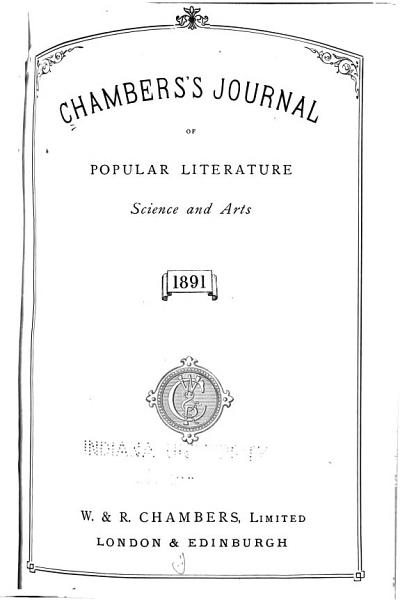 Download Chamber s Journal of Popular Literature  Science and Arts Book