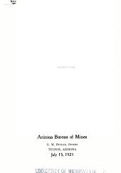 Bulletin - Arizona State Bureau of Mines: Issue 114