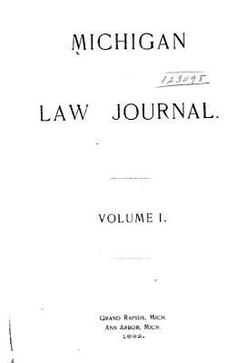 Michigan Law Journal PDF