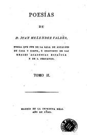 Poesías de D. Juan Melendez Valdés: Volumen 3