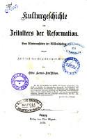 Kulturgeschichte der neuern Zeit vom Wiederaufleben der Wissenschaften bis auf die Gegenwart von Otto Henne Am Rhyn PDF