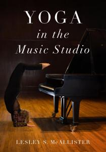 Yoga in the Music Studio Book