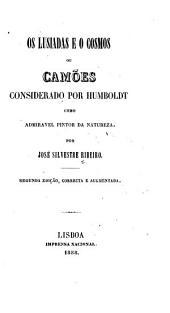Os Lusiadas e o Cosmos: ou, Camões considerado por Humboldt como admiravel pintor da natureza