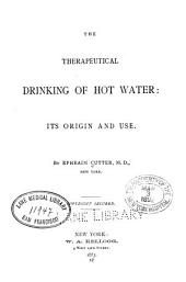 The Therapeutical drinking of hot water