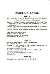 Parsons' Code, the New York Code of Civil Procedure, as Amended by the Legislature to and Including the Session of 1919[-1920]; Sections of Code Annotated with Reference Notes and Notes Showing Derivation Thereof, and Giving Titles of Cases Construing and Applying Such Sections, Containing Also the State Constitution; General Construction Law; New York City Municipal Court Code; Rules of the Court of Appeals; General Rules of Practice; Rules of the Appellate Division of the Supreme Court, All Departments; Special Rules of the Supreme Court, First Judicial District; Rules of the City Court of the City of New York, and Rules of the Appellate Terms, First and Second Departments ... The Practice Manual of the State of New York