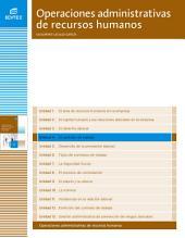 El contrato de trabajo (Operaciones administrativas de recursos humanos)