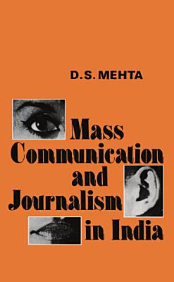 Mass Communication and Journalism in India PDF