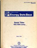 Download Energy Data Base Book