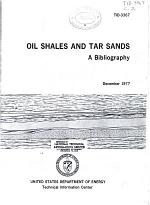 Oil Shales and Tar Sands