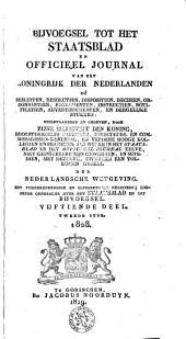 Bijvoegsel tot het Staatsblad van het Koningrijk der Nederlanden: Volume 1