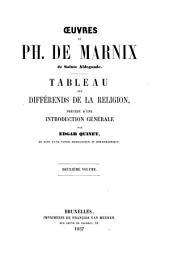 Tableau des différends de la religion: Volume2