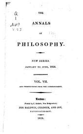 Annals of Philosophy: Volume 7; Volume 23