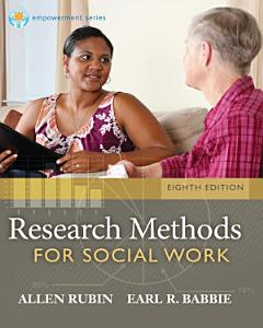 Brooks Cole Empowerment Series  Research Methods for Social Work Book