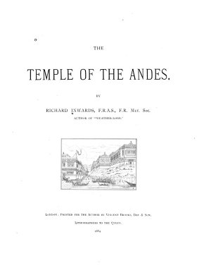The Temple of the Andes PDF