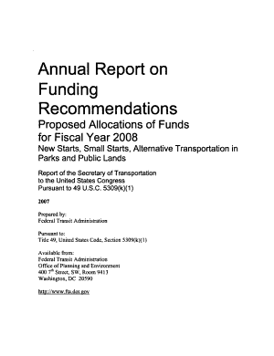 Annual Report on Funding Recommendations PDF