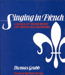 Singing in French Book